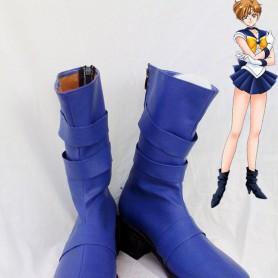 Sailor Moon Tenoh Haruka / Sailor Uranus Cosplay Boots