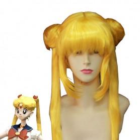 Sailor Moon Tsukino Usagi Yellow Cosplay Wig