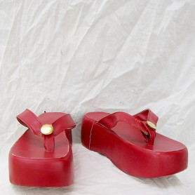 Samurai Warriors Okuni Cosplay Shoes