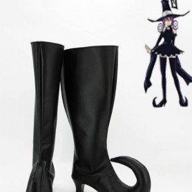 Soul Eater Cosplay Blair Black Cosplay Boots
