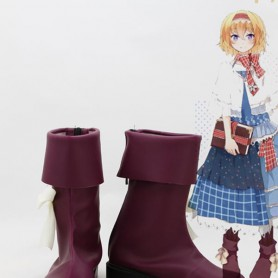 Touhou Project Cosplay Alice Margatroid Cosplay Boots