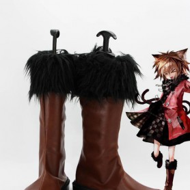 Touhou Project Cosplay Chen Brown Cosplay Boots