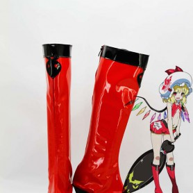 Touhou Project Cosplay Flandre Scarlet Cosplay Boots