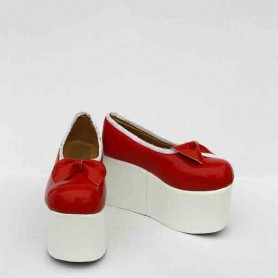 Touhou Project Cosplay Flandre Scarlet Red Cosplay Shoes