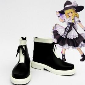 Touhou Project Cosplay Kirisame Marisa Cosplay Boots