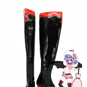 Touhou Project Cosplay Remilia Scarlet Cosplay Boots
