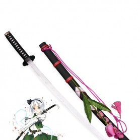 Touhou Project Cosplay Youmu Konpaku Wood Cosplay Sword