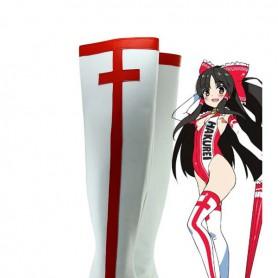 Touhou Project Hakurei Reimu Cosplay Boots