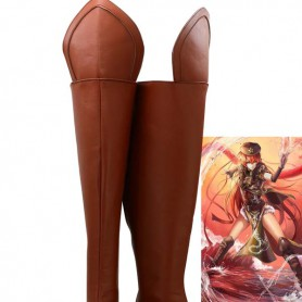 Touhou Project Hoan Meirin/Hong Meiling Cosplay Boots