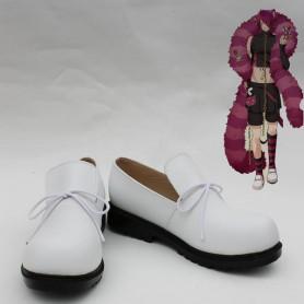 Wonderful Wonder World Boris White Cosplay Shoes