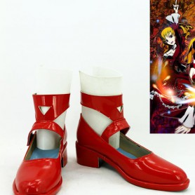 Unlight Scarlet Queen Donita Red Cosplay Shoes