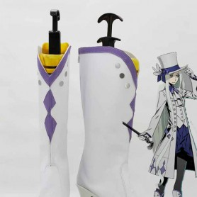 Unlight The Black Goat Noichrome White Cosplay Boots