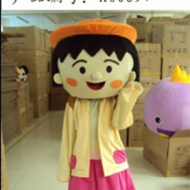Cartoon Costumes Cartoon Character Chibi Maruko Cartoon Walking Doll Clothing Doll Mascot Costume