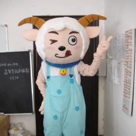 Cartoon Costumes Pleasant and Wolf Beautiful Sheep Show Props Walking Doll Clothing Cartoon Costumes Mascot Costume
