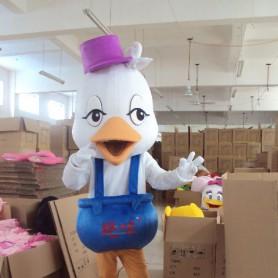 Constellation Aquarius Duckling Cartoon Dolls Cartoon Clothing Cartoon Walking Doll Clothing Headgear Mascot Costume