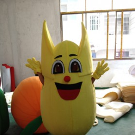 Shanghai Cartoon Clothing Corn Plant Fruits Walking Doll Clothing Corporate Mascot Mascot Costume