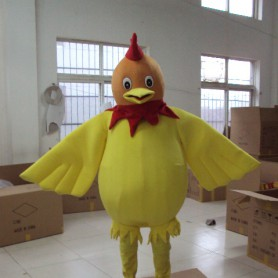 Shanghai Cartoon Doll Clothing Chick Clothes Big Cock Big Yellow Chicken Walking Cartoon Doll Doll Clothing Mascot Costume
