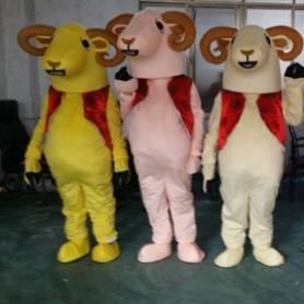 Sheep Lamb Walking Doll Doll Cartoon Clothing Apparel Companies Show Props Walking Dolls Dolls Mascot Costume