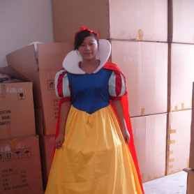 Snow Rental Shanghai Cartoon Dolls Cartoon Clothing Performance Apparel Clothing Cartoon Walking Doll Mascot Costume