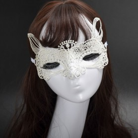Fashion Sexy Lace Butterfly Mask with Diamond Fun Mask Elvis