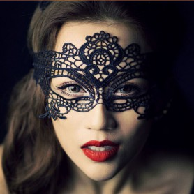 Feel Lace Queen Mask Halloween Makeup Party Mask