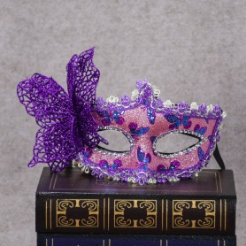 Halloween Makeup Princess Mask Venetian Patchwork Goggles Men and Women Butterfly Mask