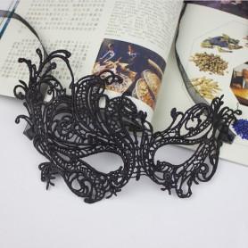 Lace Styling Phoenix Mask Veil Mask Sexy Sexy Black Goggles