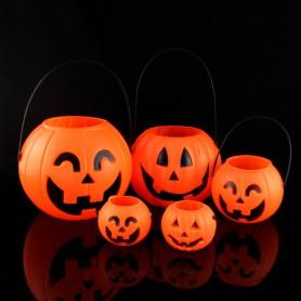 Halloween Halloween Item Halloween Barrel Pumpkin Lamp Pumpkin Can Pumpkin Barrel