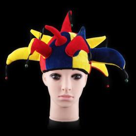 Makeup Apparel Halloween Supplies Performance Headdress Striped Clown Hat