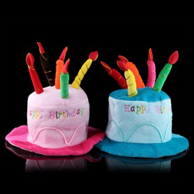 Birthday Gift Decorations Adult Birthday Cake Hat Birthday Hat Performance Dress