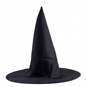 Black Oxford Twist Hat Harry Potter Magic Hat Halloween Witch Hat Witch Hat