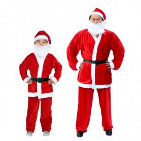 Christmas Costume Santa Claus Suit Santa Claus Suit Adult Gold Velvet Suit