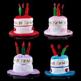 Decorative Birthday Cake Hat Birthday Hat Performance Dress Up