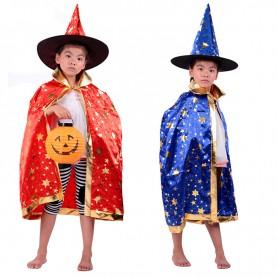 Halloween Costume Magician Cloak Witch Five Star Halloween Cloak Cloak