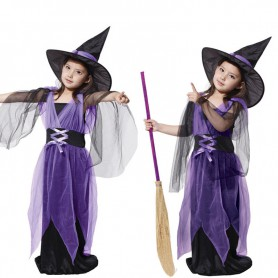 Halloween Costume Stage Performance Service Girl Virgin Witch Dress Witch Clothes