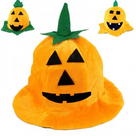 Halloween Supplies Halloween Cosmetics Performance Pumpkin Hat Pumpkin Cap