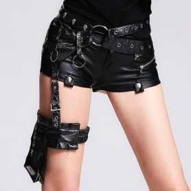 Exclusive Original Steam Punk Skull Fashion Pockets Female Accessories Package