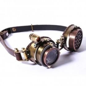 Steam Punk Fashion Retro Goggles Goggles Goggles Gothic Metal Dark Version of The