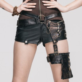 Steam Punk Skull Gear Belt Waist Belt Legs Fashion Pajamas Female Color
