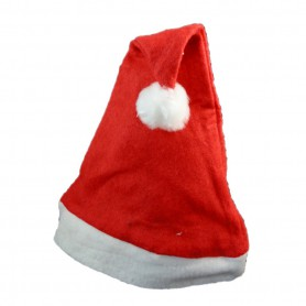 Christmas Decoration Adult Red Ordinary Christmas Hat Santa Claus Hat Christmas Hat