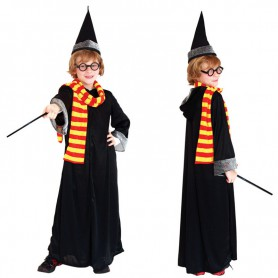Halloween Dress Up Performances Harry Potter Dresses Magic Gloves Magic Bars