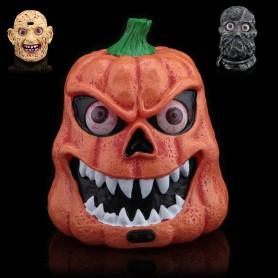 Halloween Festival Supplies Supplies Voice Control Ghost Pumpkin Lights