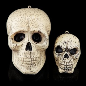 Halloween Festive Supplies Ktv Ghost Festival Whole Skeleton Head Skull Skull Bone Size Ghost Head