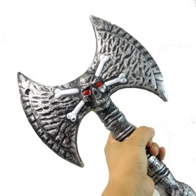 Performing Halloween Weapon Ghost Festival Equipped with Ghost Ax Double-sided Ax