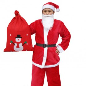 Christmas Costume Adult Christmas Clothes Santa Clothes Clothing Men Men A Style