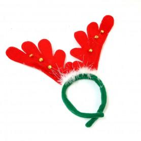 Christmas Decorations Dress Up Feather Bells Antlers Hoop Hoop Hoop