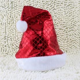 Christmas Decorations Santa Claus Hat Fish Scales Christmas Hat