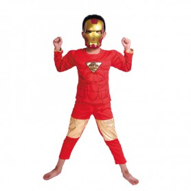 Halloween Adult Costume Musical Dress Set Musical Iron Man Set