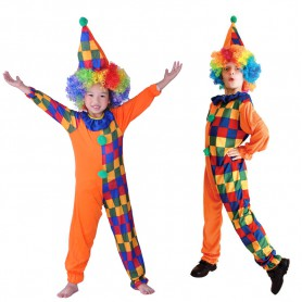 Halloween Costume Clothes Clown Clothes Makeup Clown Suit