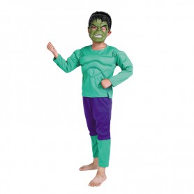 Halloween Costume Dress Muscle Suit Dress Suit Muscle Green Giant Suit